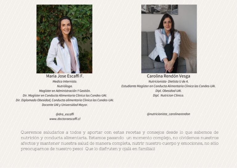 Maria José Escaffi y Carolina Rendon Vesga