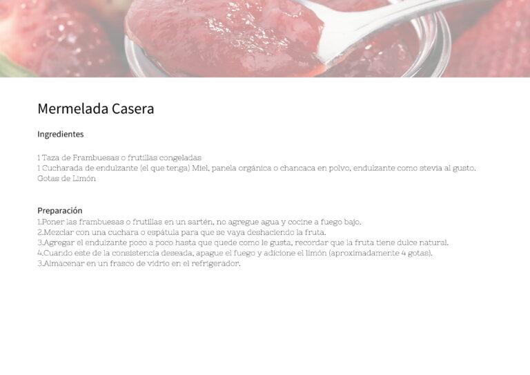 Mermelada Casera